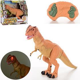 Динозавр д/у,49см,звук,свет,ходит,двиг.головой и челюст,на бат,в кор-ке, 36,5-31-12см