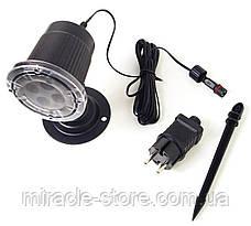 Уличный светодиодный лазерный проектор Festival Projection Lamp новогодние фигуры, фото 3
