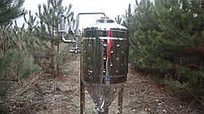 Цкт 130 литров для брожения под давлением, с рубашкой охлаждения., фото 2