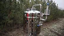 Цкт 130 литров для брожения под давлением, с рубашкой охлаждения., фото 3