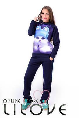 Женский спортивный костюм №3-435