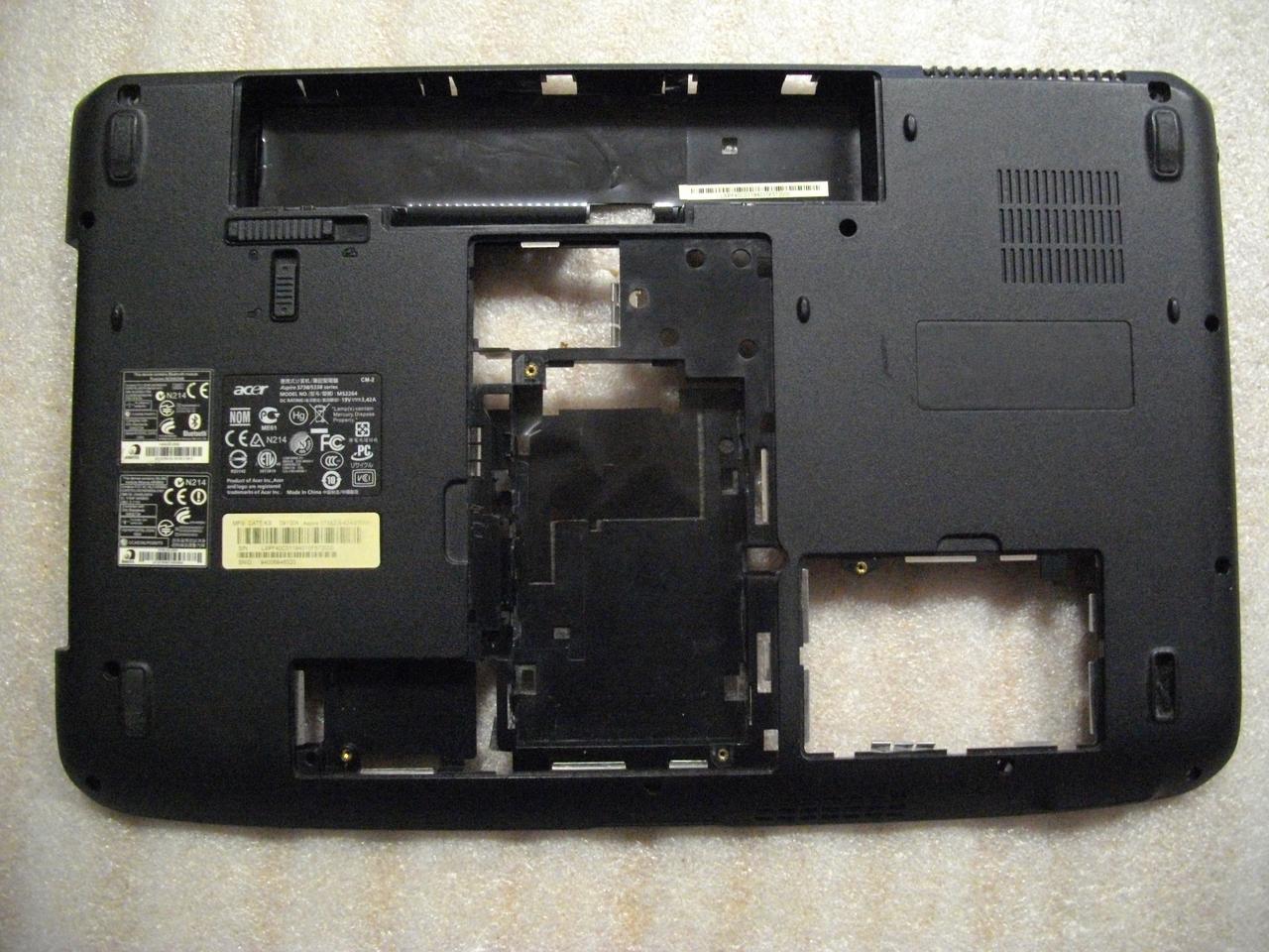 Корпус низ, Нижняя часть корпуса Acer Aspire 5738ZG, 5338, 5738, MS2264, WIS604CG3900409091111 бу