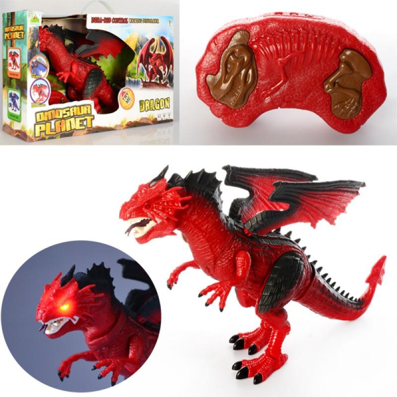 Динозавр д/у,50см,звук,свет,ходит,двиг. головой, подв. крылья, бат,кор,53-30,5-13см