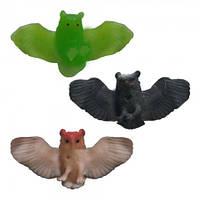 Игрушки резиновые фигурки для детей оригинальный подарок ребенку Сова
