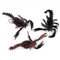Игрушки резиновые фигурки для детей оригинальный подарок ребенкускорпион