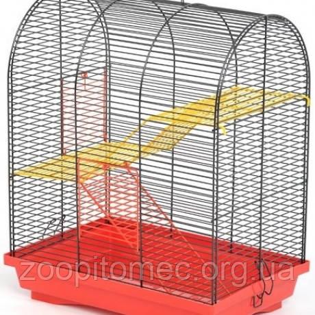 Клетка для грызунов  Бунгало 2 краска, 33,5*23*36,5 см