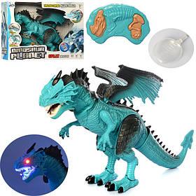 Динозавр д/у, 51см, ходит,звук,свет, подвиж.голова/хвост,на бат-ке,в кор,41-31-13см