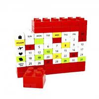 Календарь Пазл красный оригинальные подарки необычные прикольные красивые сувениры