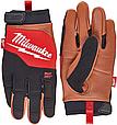 Перчатки Milwaukee с кожаными вставками, 10 / XL (4932471914), фото 2