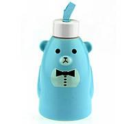 Термобутылка Gentle Bear голубая ( бутылка медвежонок )
