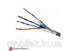 Кабель FTP 4х2х0,51 CCA 305м ТМ ELECTROHOUSE