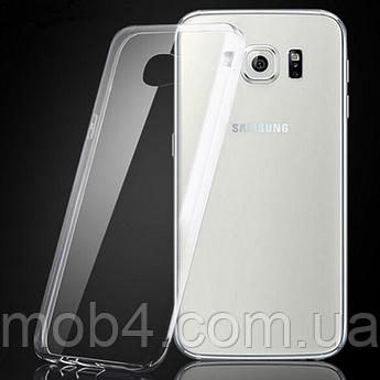 Прозорий силіконовий чохол для Samsung Galaxy (Самсунг Гелексі) S7 edge