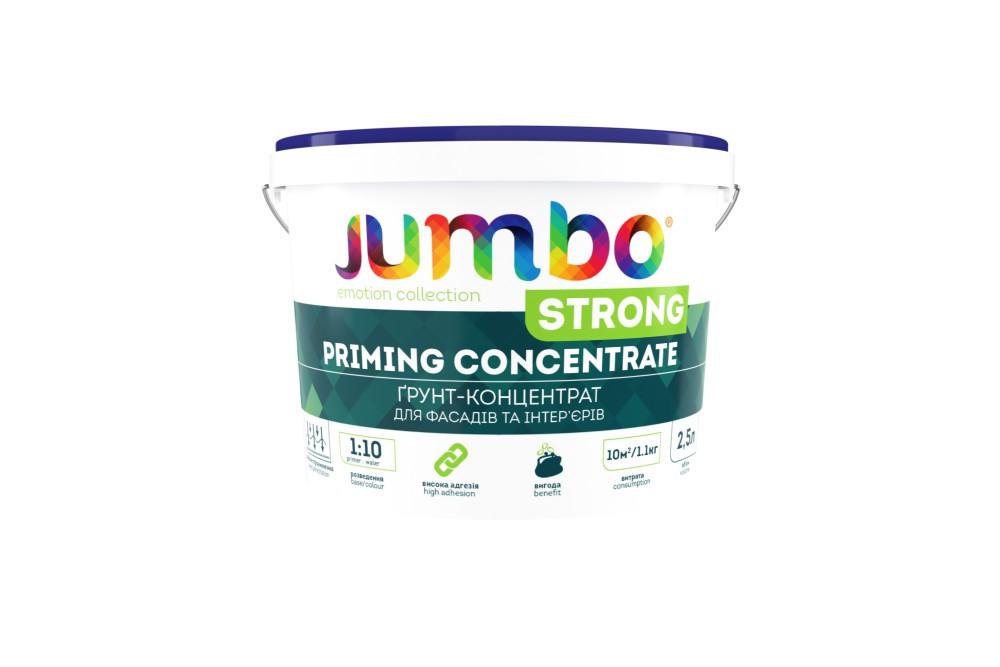 JumboStrong 1л - грунт-концентрат 1:10 глубокопроникающий