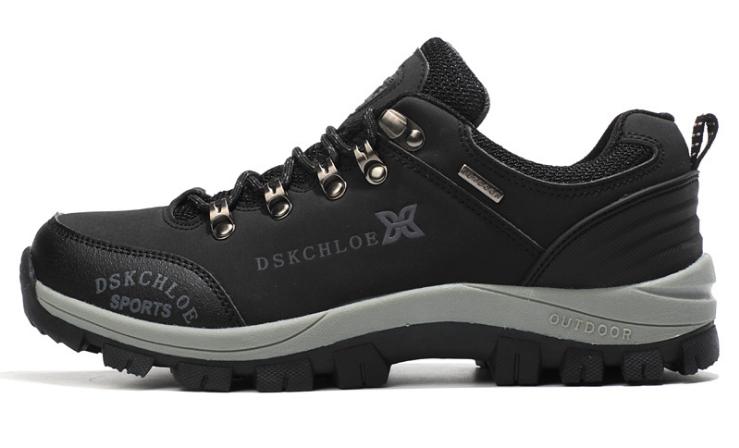Кросівки/черевики чоловічі чорні осінь Dskchloe
