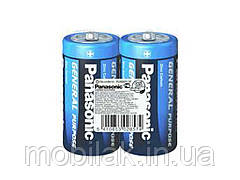Батарейка R 20 коробка 1х2шт ТМ PANASONIC