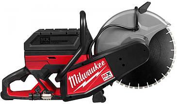 Аккумуляторная отрезная машина Milwaukee MX COS350-601 + диск DUH350 (4933471833)