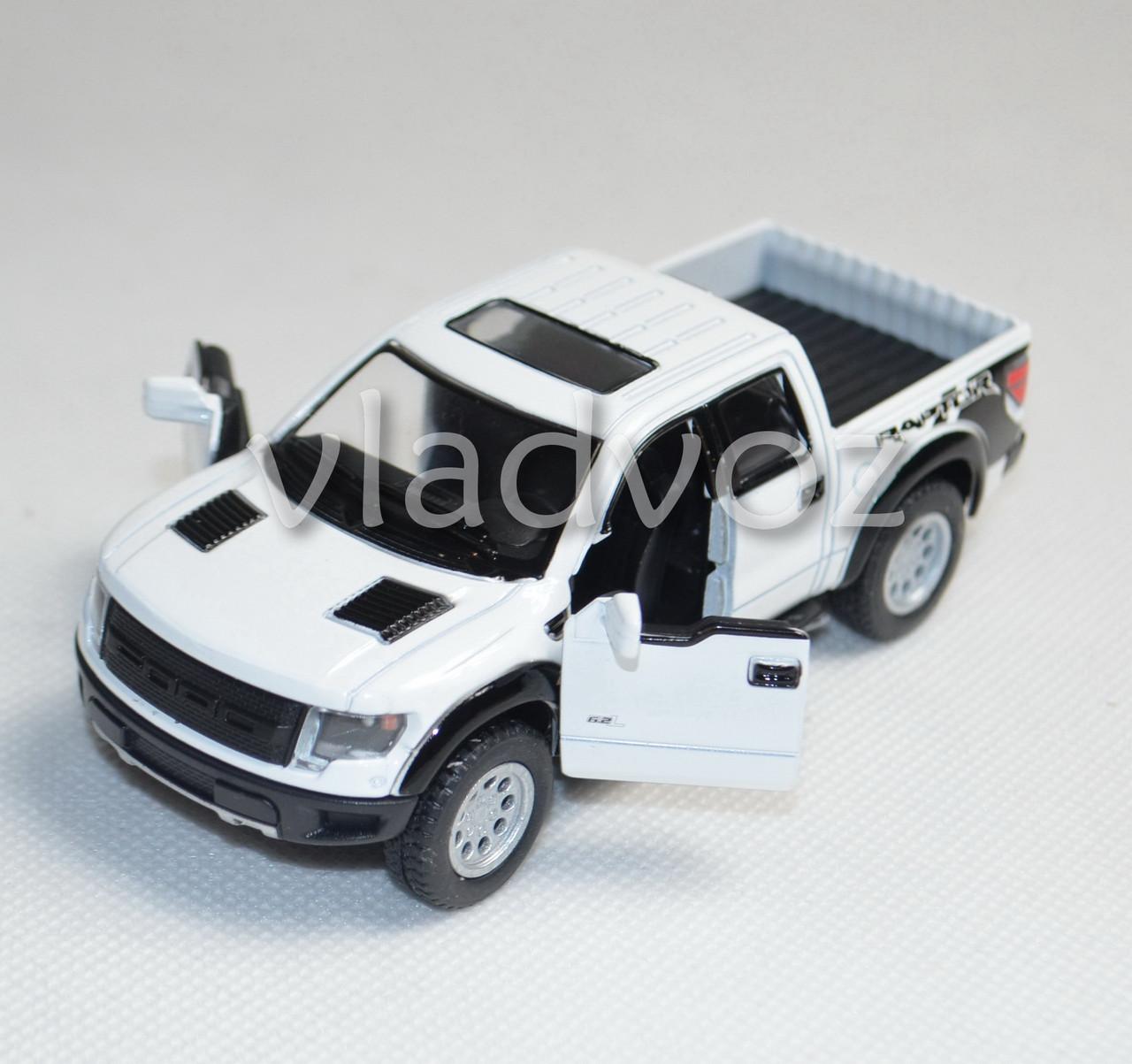 Машинка модель из металла 1:32 ford белая