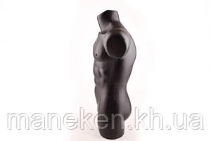 "Манекен-торс мужской TREMVERY ""Давид"" черный (201) PN3, фото 2"