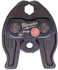 Сменные пресс-клещи Milwaukee J12-V15, для опрессовки труб (4932430262)