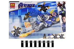 """Конструктор """"Marvel Heroes"""" """"Капітан Америка: Атака Аутрайдерів"""" 191дет. в кор. 29*20*4,5 /60/"""