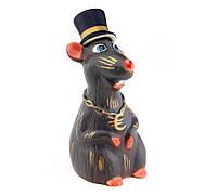 Крыса джентльмен графин штоф MSE символ года 2020
