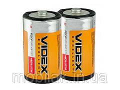 Батарейка Videx R20 2шт. в спайке ТМ Videx