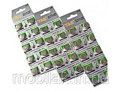 Батарейки Таблетки AG1 10шт на аркуші 1239-01 ТМ Китай