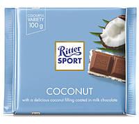 Шоколад молочный Ritter Sport Кокосовый крем, 100 г