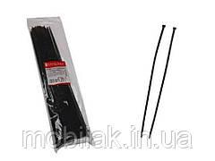 Кабельна стяжка EH-B-0081 чорний 4×370 (100шт) ТМ ELECTROHOUSE
