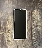 """Стекло """"Антишпион"""" для Samsung A 21S - black (privacy)"""