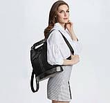 Рюкзак сумка женский городской Макрос 387 15л черный, фото 2