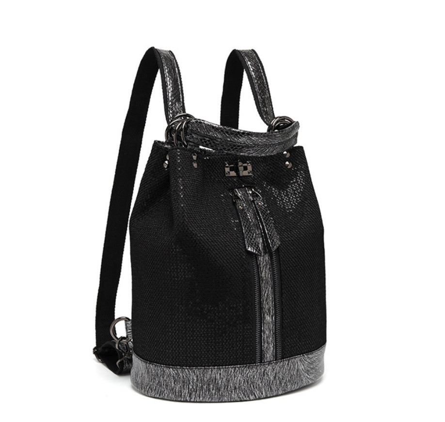 Рюкзак сумка женский городской Макрос 387 15л черный