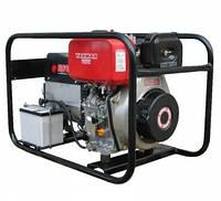 Однофазный бензиновый генератор Europower  ЕР 6000E/25 (6 кВт)