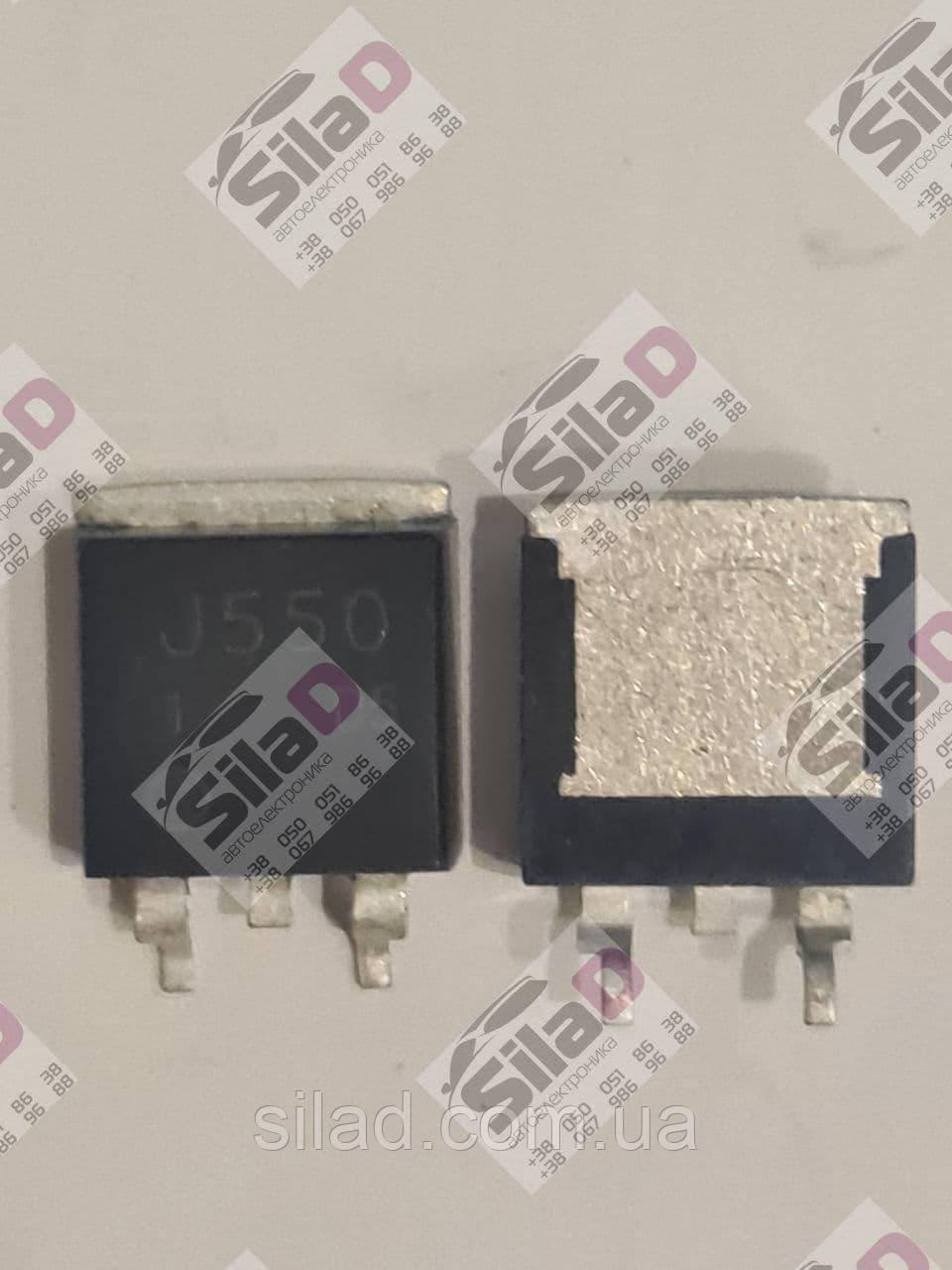 Транзистор 2SJ550 J550 Hitachi корпус TO-263