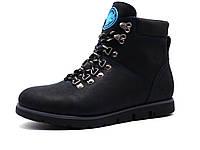 Ботинки Samas X-Lite Black, мужские, натуральная кожа, на меху, черные, фото 1
