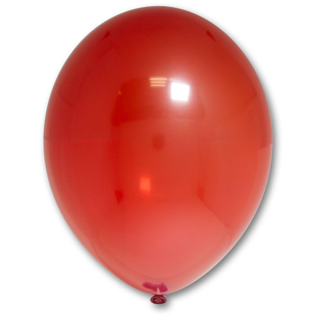 """Кулька 12""""/30 червоний 131 латекс кристал ТМ """"Belbal"""" однотонний шт."""