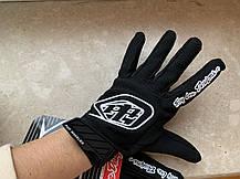 Черные легкие  кроссовые эндуро  Перчатки 100%, фото 3