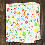 Пеленка для Новорожденных (байковые) 1 шт
