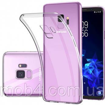 Силиконовый прозрачный чехол для Samsung Galaxy (Самсунг Гелекси) S9