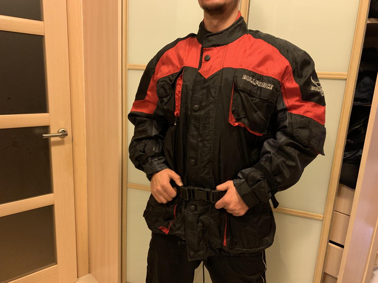 Защитная мото Куртка BullForce оригинал с Европы  со съемной защитой