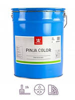 Водоразбавляемая фасадная лессирующая морилка для дерева Tikkurila Pinjacolor HB в промтаре 18 литров