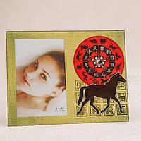 """Фоторамки рамка для фото подарчная семейная красивые готовые """"Восточный гороскоп"""" (22*17 см (011EPB)"""