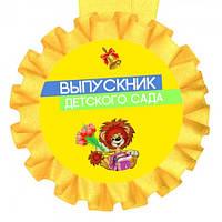 Медаль прикольная Выпускник детского сада прикольные подарки оригинальные необычные смешные для каждого