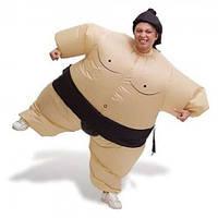 Надувной костюм для праздника карнавальный пневмокостюм Сумо