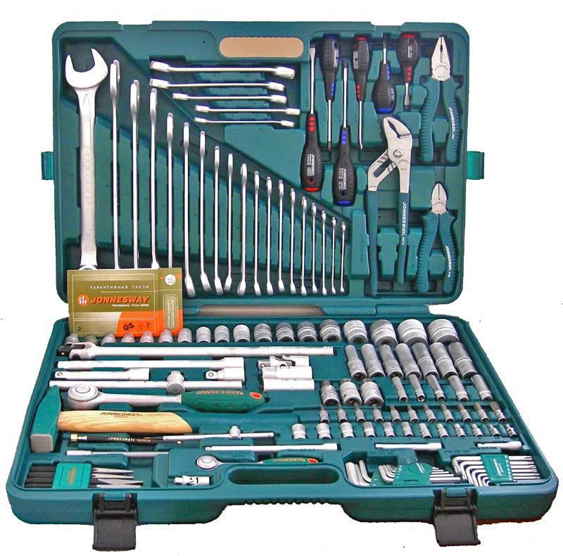 Набор инструментов Jonnesway S04H524128S, 128 предметов