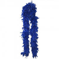 Боа из перьев 40г (синее)