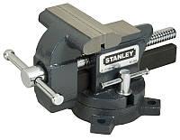Тиски для небольшой нагрузки, вес 6кг, глубина 85 мм, раскрыв 100 мм, усилие стяжки 110 кг.,STANLEY 1-83-065.