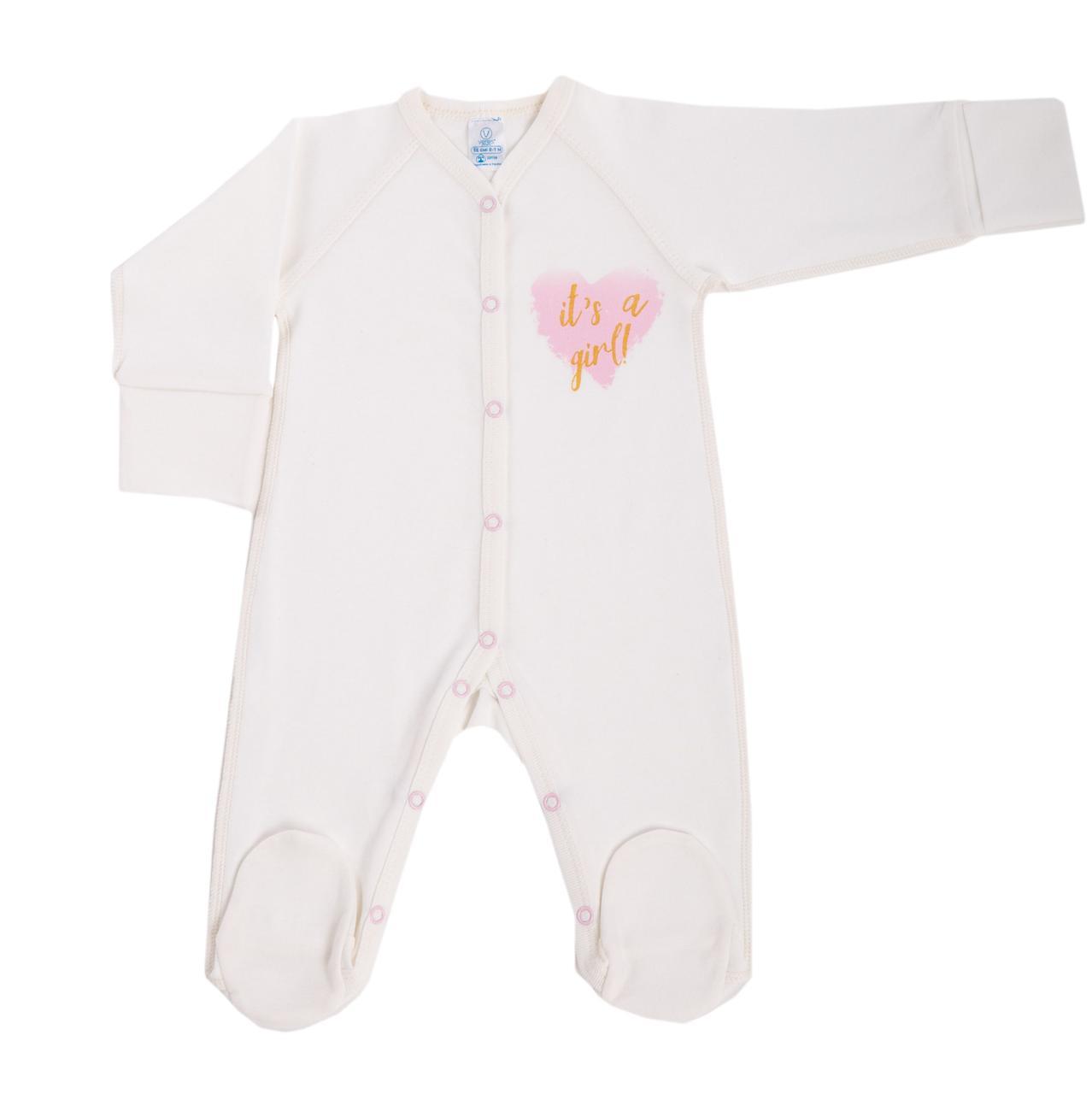 Комбинезон для новорожденных Baby Veres Shimmer girl