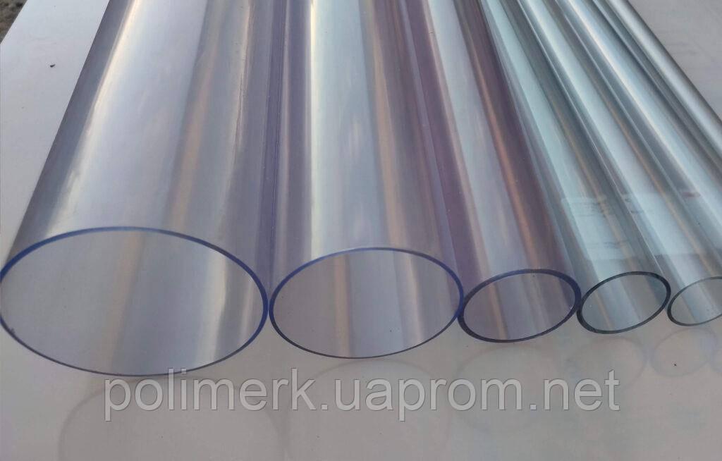 Труба ПВХ прозрачная PVC-GLAS D160мм. PN4-7 4-7-mm