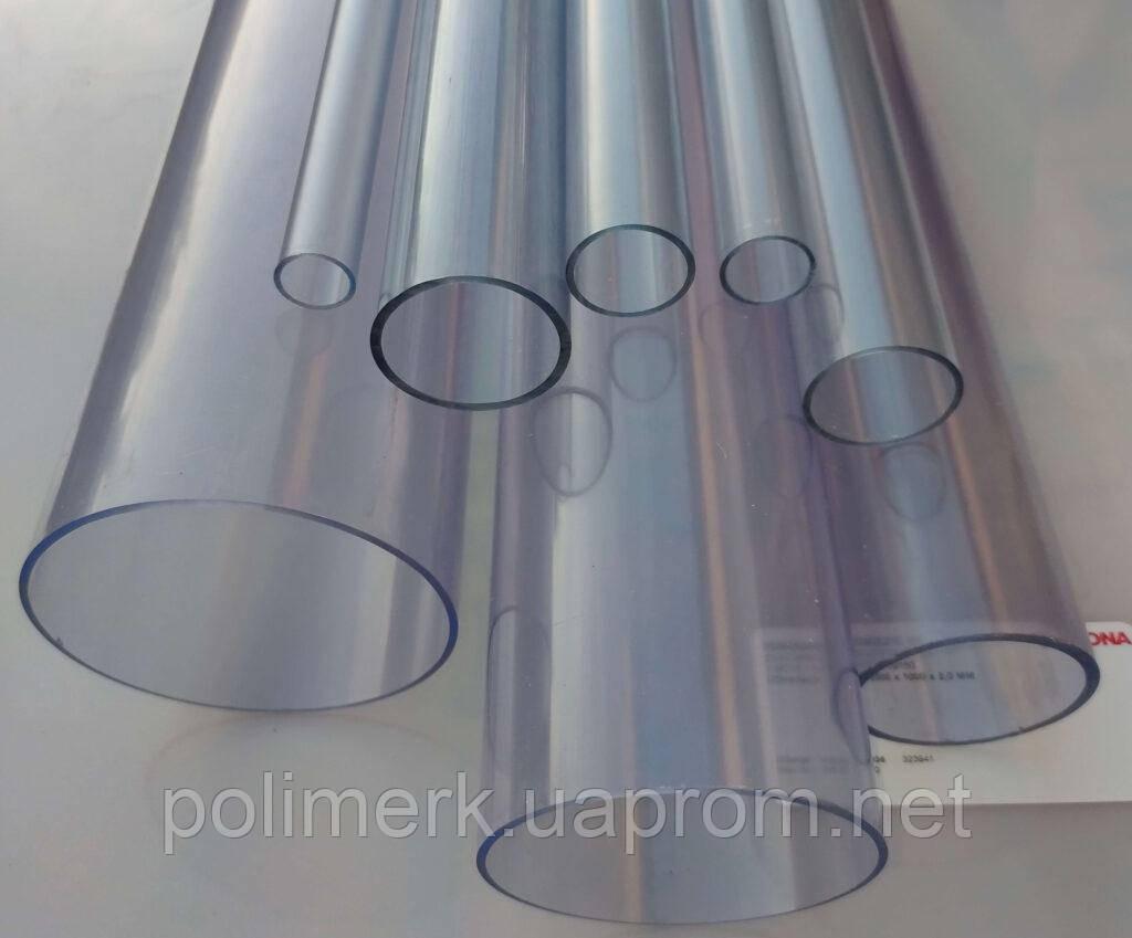 Труба ПВХ прозрачная PVC-GLAS D110мм. PN4-12,5 2-2-mm